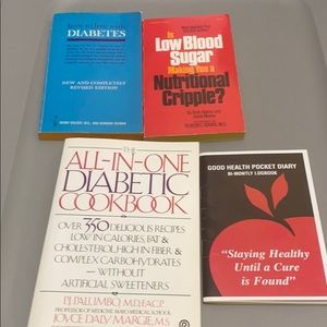 Other - Diabetic paper book set!
